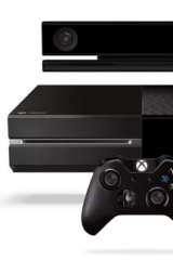 Next-gen: Microsoft's new Xbox One console with Kinect.