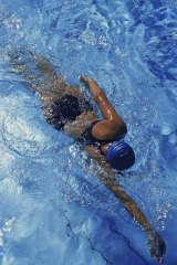 Fountain of youth? Swimmers show fewer age markers than the general population.