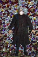 Leading light: Russell Dykstra as Fester in <em>The Addams Family - The Broadway Musical</em>.