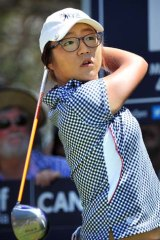 Lydia Ko finished third in the Australian Open.
