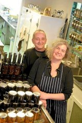 Mary and Ken Clarke of Mason Clarke Preserving.