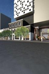 Artist's impression of the proposed 50-storey development.