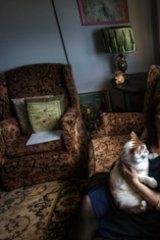 Fiona Kranenbroek in her Collingwood high-rise home.