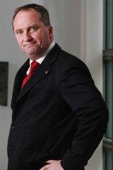 Nationals Senator Barnaby Joyce