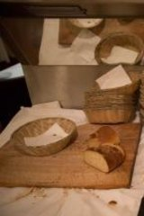 Bread: Perfect for sopping up Castelmola's mushrooms with gorgonzola sauce.