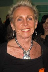 Lady Sonia McMahon in September last year.