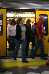 Would free early-morning trains ease congestion?
