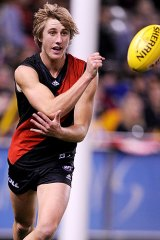 Essendon's Dyson Heppell has won this year's Rising Star award.