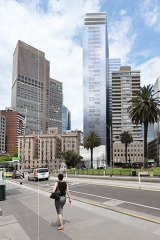 The new tower will be designed by architects Denton Corker Marshall, best known for landmark buildings such as the Melbourne Museum and Exhibition Centre.