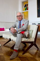 Michael Wolff in his New York home.