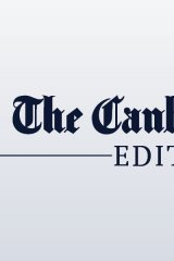 The Canberra Times editorial dinkus
