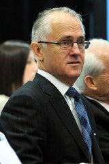 Malcolm Turnbull has highlighted Tony Abbott's shift on the issue of a carbon tax.