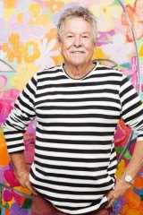 Ken Done in his studio at The Rocks.