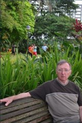 Left the country: Father Peter Grasby, who was found to have abused a 10-year-old boy, moved to Malaysia this year against the orders of Archbishop Hart.