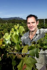 The good stuff ... Random Acts of Winemaking's Jim Chatto.