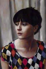 Genuinely likeable: Heidi Yardley's self-portrait.