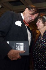 Kindred spirits: Barry Humphries with Margaret Olley  at the Art Gallery of NSW in 2005.