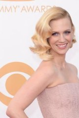 Actress January Jones sees the benefits of eating placenta.