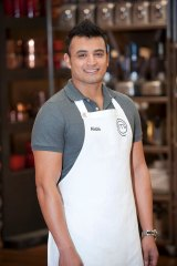 Queanbeyan public servant Rishi Desai on MasterChef in 2013.