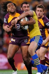 """We were out-enthused, outplayed out-everythinged. We were terrible"" ... Broncos captain Sam Thaiday, left."