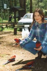 A family photo of Jeanette O'Keefe taken in 1999 in the Dandenongs.
