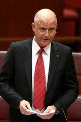 LDP Senator David Leyonhjelm.