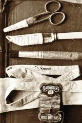 The plot thickens … some of the contents of Somerton Man's suitcase.