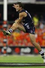 Long-term plans: The Cats are looking for young forwards to play alongside Tom Hawkins.