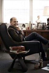 Creator Matthew Weiner in his office.