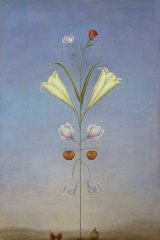 <i>Most Beautiful Plant</I>, 1989, oil on linen.