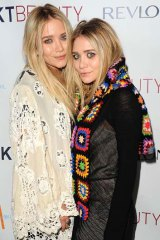 No rivalry ... Ashley and Mary-Kate Olsen.