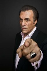 Robert Davi, who performs Frank Sinatra tribute shows.