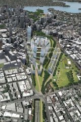 Vision: NSW has called for expressions of interest for the renewal of the railway line corridor between Central Station and Eveleigh that has potential to provide thousands of new homes and jobs.