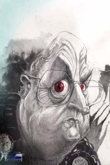 Peter Reith ... incandescent with rage after Tony Abbott  dudded him in the run for federal Liberal presidency.  <em>Illustration: David Rowe</em>