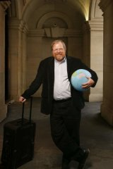 Bill Bryson will appear at Canberra Royal Theatre on March 21.