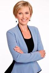 Channel Nine Sydney news presenter Deborah Knight.