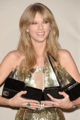 Taylor Swift is a winner on and off the stage.