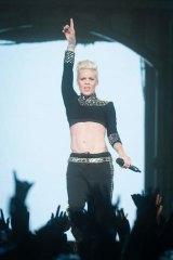 Pink begins her Melbourne stint on Sunday.