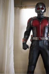 Paul Rudd suits up as Ant-Man.
