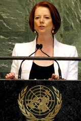"""""""I've certainly been left with an impression of warmth for Australia"""" ... Julia Gillard."""