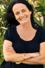 Author Katherine Scholes.