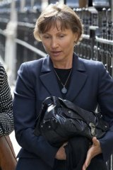 Litvinenko's  wife Marina at the hearing into his death this week.
