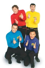 Glory days ... Greg Page in yellow Wiggle gear.