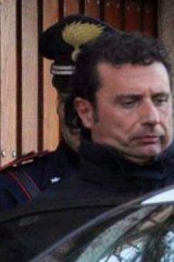In deep ... Costa Concordia cruise liner captain Francesco Schettino.