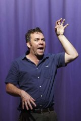 Brendan Cowell in Michael Gow's new play <i>Once in Royal David's City</i>.