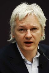 Julian Assange remains in Ecuador's embassy in London while the Ecuadorian government assesses his application for political asylum.