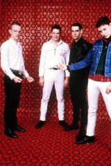 Vintage Sunnyboys: Richard Burgman, Peter Oxley, Bil Bilson and Jeremy Oxley.