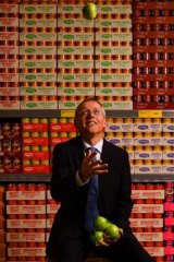 Michael Kloeters: Not scared of competition from the supermarket heavyweights.