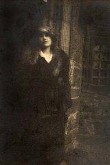 A picture of Lady Elizabeth Bowes-Lyon taken by Dent.