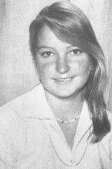 Missing ... Trudie Adams.